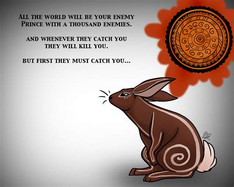 el ahrairah prince of rabbits by arianwen44 on deviantart
