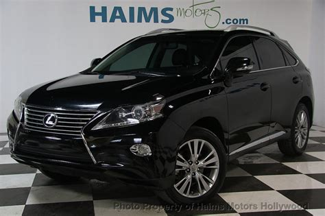 lexus rx  fwd dr  haims motors serving fort lauderdale hollywood miami fl