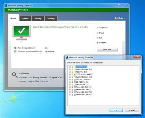 Microsoft Security Essentials review   PC Advisor