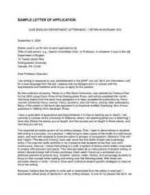 Resume Objective For Funeral Service Interns by Best 25 Application Letter Sle Ideas On