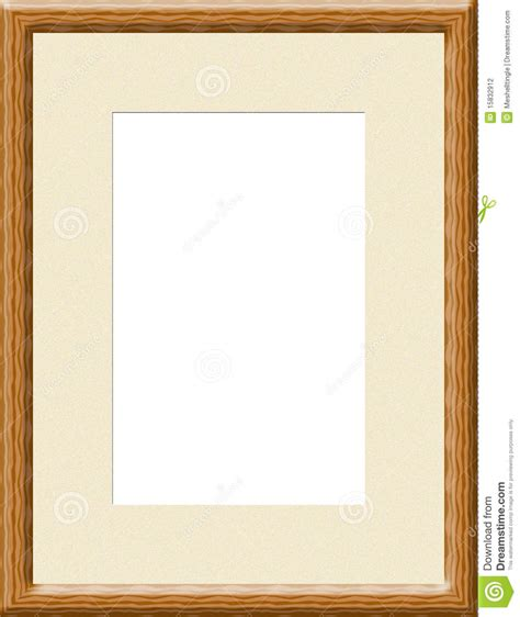 light wood picture frames light brown wooden frame stock photography image 15832912