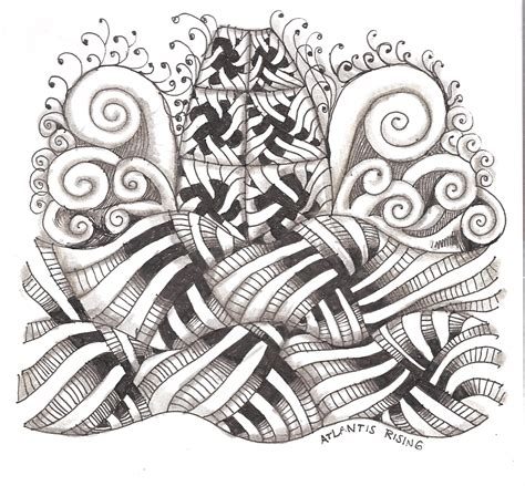 zentangle pattern dictionary my tangle pattern quot wisket quot