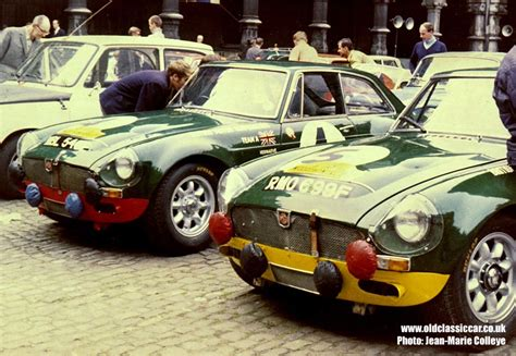 Size Of Two Car Garage by Works Entered Mgc Gts Coupes On The 1968 Marathon De La Route