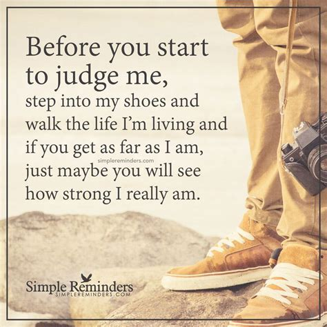 Judge Me before you start to judge me before you start to judge me