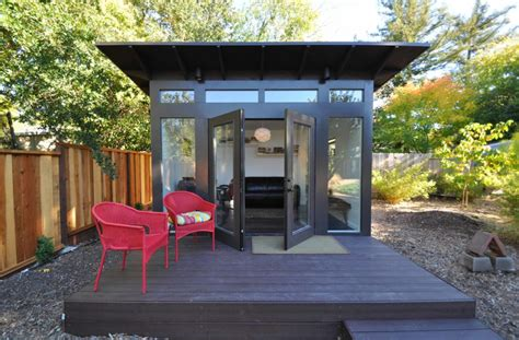 prefab backyard office sheds studio shed