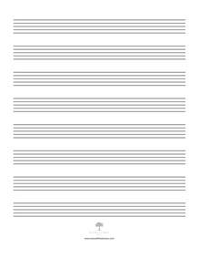search results for printable blank music staff paper
