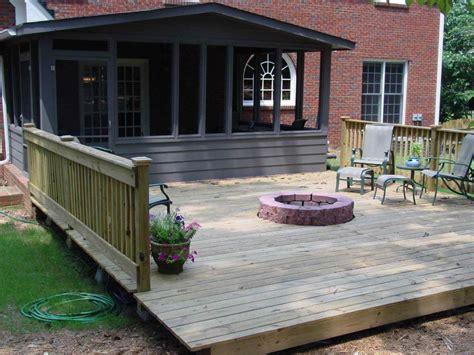 deck firepit deck designs with pit pit design ideas