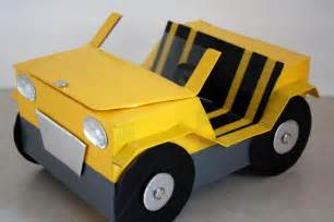 How Do You Make A Paper Car - how to make a doll car doll crafts
