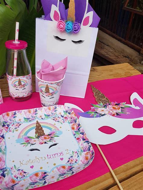 themed party supplies johannesburg floral unicorn party supplies decor gauteng