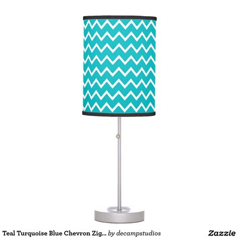ufo zig zag pattern teal turquoise blue chevron zigzag pattern desk l girl