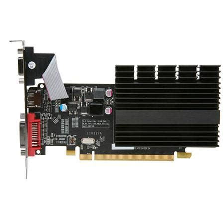Vga Card Radeon Hd 5450 xfx amd radeon hd 5450 1gb gddr3 vga dvi hdmi low profile pci express card hd 545x zqh2