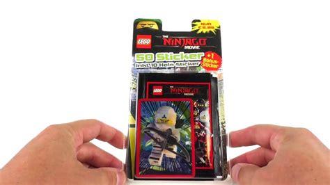 3d Sticker Ninjago by Lego Ninjago Sticker 1 Blister Opening 3d Sticker