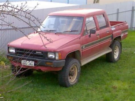 1986 Toyota 4x4 For Sale 1986 Toyota Hilux 2200 4x4 Related Infomation