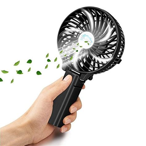 battery operated personal fan handheld fan rechargeable battery operated fan sunpollo