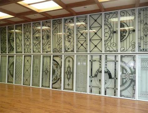 glass inserts for front doors toronto york home improvement supplies wrought iron glass door