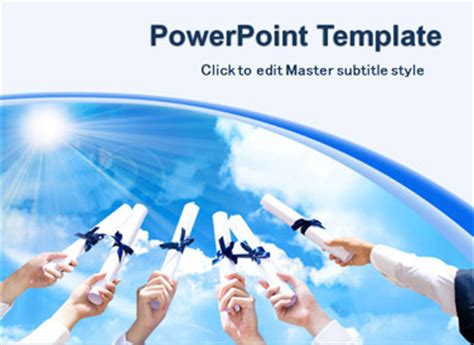 free graduation powerpoint templates download