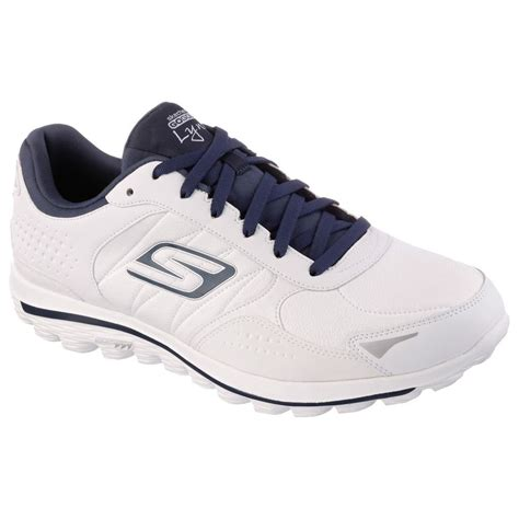 2015 skechers go walk 2 performance mens leather spikeless