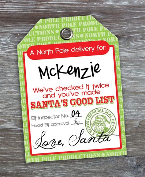 large printable gift tags from santa god bless our nest free printable love santa tags