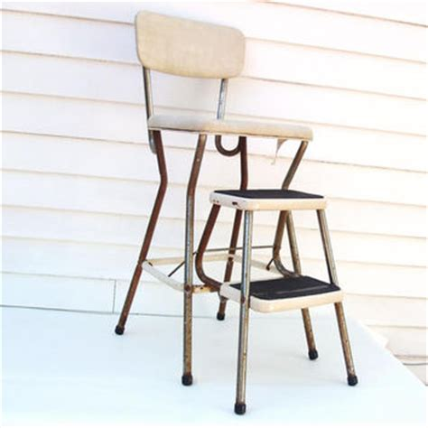 Vintage Kitchen Stool Chair by Shop Kitchen Stools With Steps On Wanelo