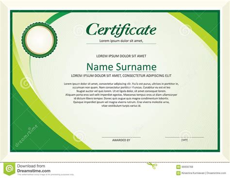 simple certificate template royalty free stock photos certificate frame design