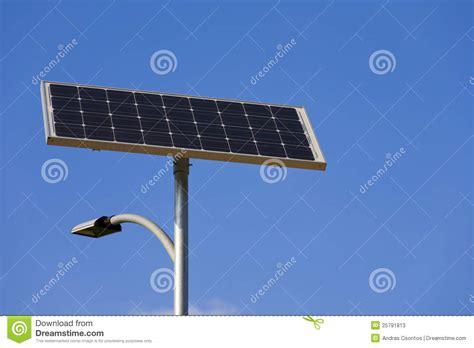 solar powered street l solar powered street l royalty free stock image
