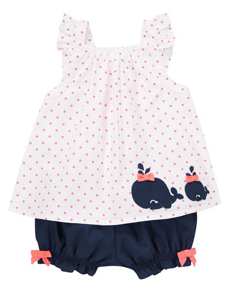 Gymboree Dress60k P dotty whale set at gymboree my 3rd has way many clothes but this i could not