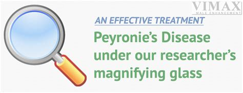 as an effective treatment for peyronie s disease