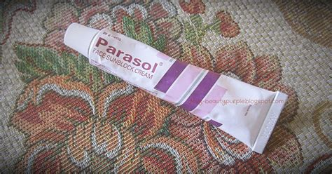 Pelembab Parasol purple review my skin care glycore 8 dan parasol sunblock