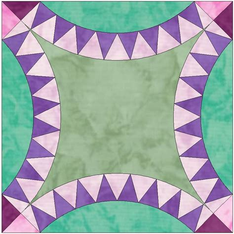 quilt pattern pickle dish double pickle dish 8 points template by humburgcreation