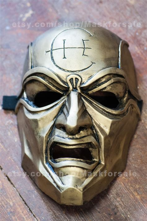 dishonored mask inspired overseer dishonored mask cosplay fan art