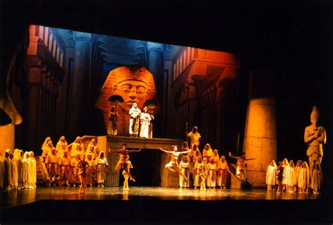 Aida Tosca Set aida image for slide show productions