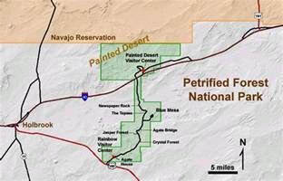 arizona national forest map geology of national parks