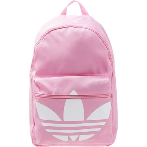 adidas classic trefoil backpack light pink adidas originals trefoil classic plecak light pink white