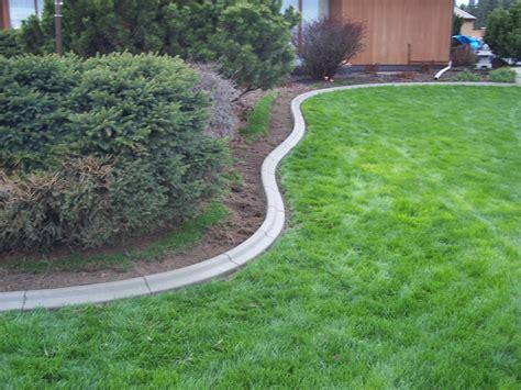 concrete landscape edging superb concrete landscape curbing 13 do it yourself