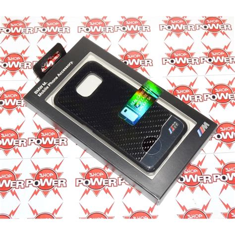 Carbon Black Samsung S6 bmw custodia real carbon cover samsung galaxy s6
