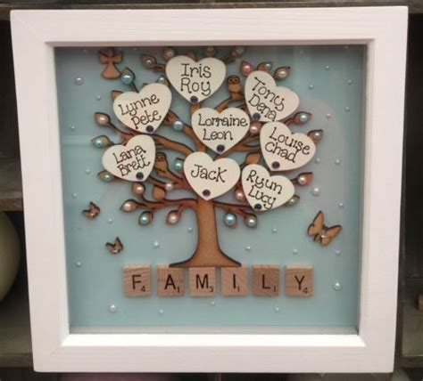 family picture frame ideas framed family tree diy project diy picture frame arts