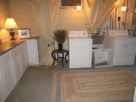 Ideas For Unfinished Basement Best 25 Unfinished Basement Laundry Ideas On Pinterest Basement Laundry Rooms Unfinished