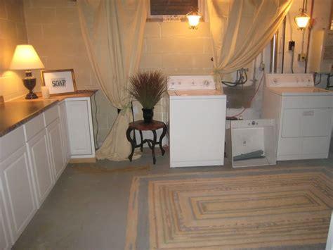 Ideas For Unfinished Basement Best 25 Unfinished Laundry Room Ideas On Basement Laundry Area Basement Laundry