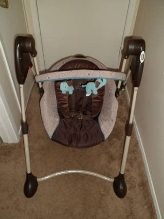 graco swing with elephants graco swing by me scribbles for sale