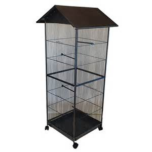 Brand new 4 sided steel parrot aviary budgie bird cage canary cage