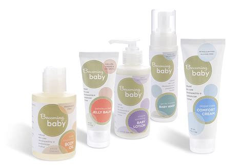 product care becoming baby skincare for baby and