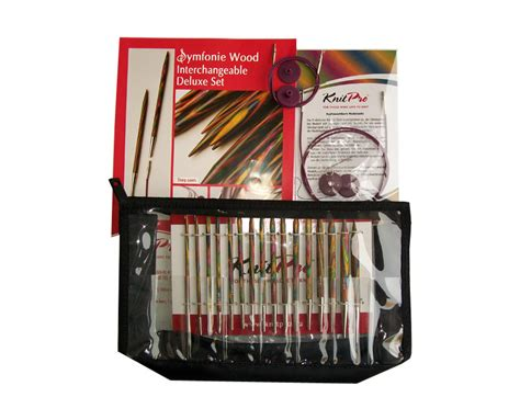Knit Pro Interchangeable Needles Deluxe Kit The Woven
