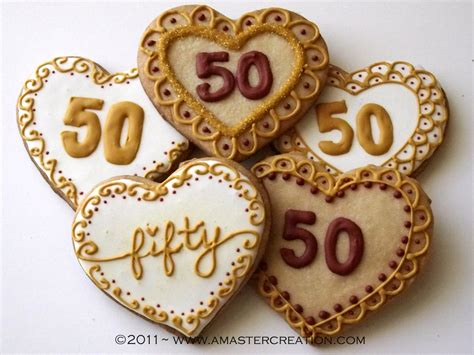 50 yr wedding anniversary celebrating 50 years a master creation
