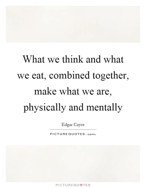how we eat with our and think with our stomachs the influences that shape your habits books what we think and what we eat combined together make