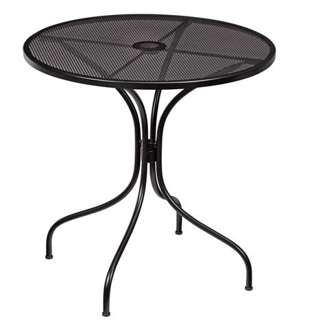 Nantucket Bistro Table Hton Bay Nantucket Metal Outdoor Bistro Table 7030000 0105157 The Home Depot