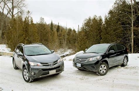 Honda Of Toyota Comparison Test 2013 Honda Cr V Vs 2013 Toyota Rav4