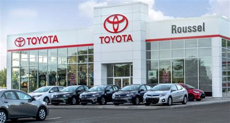toyota deslership roussel toyota toyota dealership in miramichi