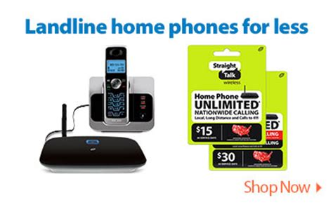wireless home phone plans straight talk wireless walmart com