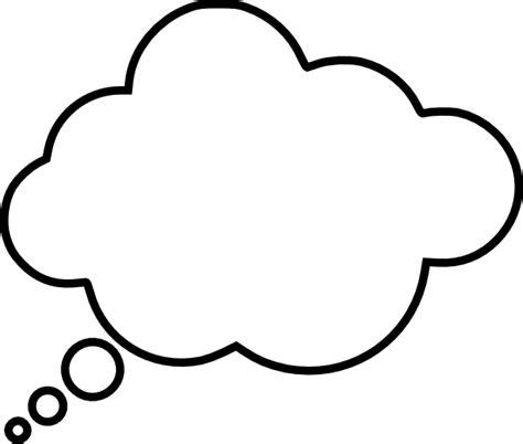 cartoon thought bubble clip art at clker com vector clip
