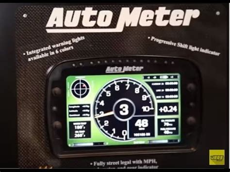 auto dash auto meter lcd competition dash gauges racing